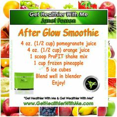 Adding some PROFIT to your fruit smoothies is like adding some PEP in your STEP! The retail price for PROFIT is $115...HOWEVER, as a loyal customer, you can get it for jut $69 dollars! That's almost a $50 saving! PLUS, it comes in two flavors, Chocolate and Vanilla. Click the link and checkout a a loyal customer. You won't regret it!