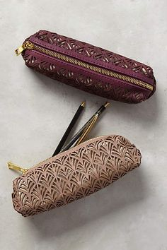 Lasercut Pencil Pouch - anthropologie.com