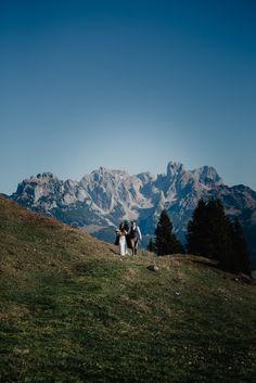 Mountain wedding in Austria Boho Wedding, Destination Wedding, Austria, Boho Fashion, Mountains, Nature, Photography, Travel, Beautiful