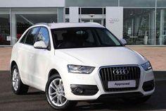 Amalfi White  Audi Q3