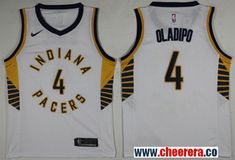 0af4892fcc89 Men s Nike Pacers  4 Victor Oladipo White NBA Swingman Association Edition  Jersey Cheap Nba Jerseys