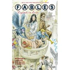 Fairy tale characters living in our world.  Before the TV show, Once Upon a Time, there was Fables. Far more compelling story-telling.