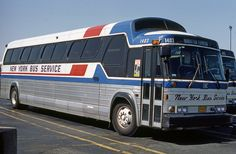 New York Bus Service #1403 GMC