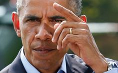 """The lame eunuch Presidense Obama, who orders extra-judicial executions anywhere any time of terrorist suspects - SUSPECTS! and bystanders - disingenuously calls on Iraqis to """"unite"""" against the religious fanatics ISIL, secretly hoping nobody remembers the USA divided the place in the first place. Like Al Qaeda - like Hamas - ISIL did not develop in a vacuum. There was no ISIL in Iraq. There was no Al Qaeda in Iraq. Until George W Bush and his evil cronies invaded. Humanitarian crisis…"""
