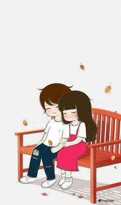 You might just want some relatable wallpaper for your desktop or smartphone. So here are Romantic Couple Cartoon Love Photos HD that you will totally love! Cartoon Love Photo, Cute Couple Pictures Cartoon, Cute Couple Drawings, Cute Couple Art, Anime Love Couple, Cute Anime Couples, Cute Drawings, Cute Love Wallpapers, Cute Couple Wallpaper