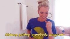 Jenna Marbles how girl's get ready makeup getting everybody pregnant