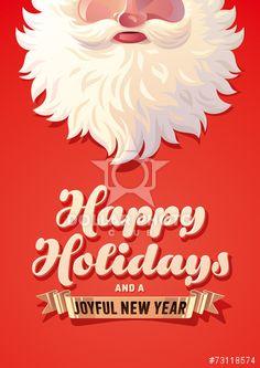 Composite Image Of Merry Christmas Message With Santa  Christmas