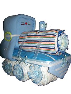 Diaper Train! scott loves trains! this would b the perfect baby gift for him! hmmm