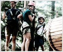 Ramblewild ropes course