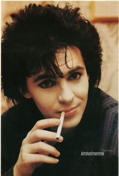 Those puppy-dog eyes. It's like he's begging you to stay the night without saying a word. Female Hysteria, Nick Rhodes, Simon Le Bon, Puppy Dog Eyes, Band Pictures, John Taylor, Crazy Girls, Stay The Night, Beautiful One