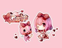 Aww she is one of my favorite Happy Tree Friends, Three Friends, Htf Anime, Anime Chibi, Pictures To Draw, Cute Pictures, Drawing Pictures, Friend Anime, Watch Cartoons