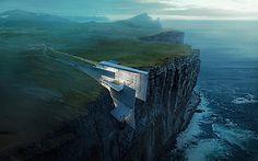 My inspiration - Cliff Retreat by Alex Hogrefe.