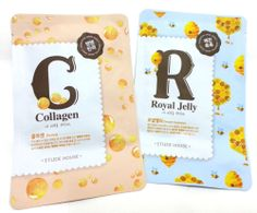 Mask pack Mask sheet Collagen Mask / Royal jelly Mask ETUDE HOUSE MADE in korea