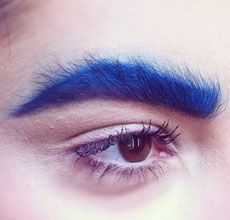 Bold Brows Runway Trend