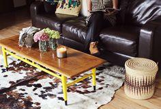 Tangerinette: Peindre (tous) les pieds des meubles