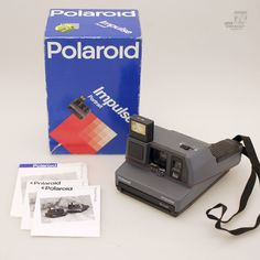 POLAROID Impulse Portrait OVP -  cyan74.com vintage & pop culture