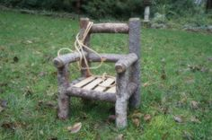 Image of Woodsy Wonders Toddler Log Chair