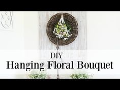 Happy At Home: Hanging Floral Bouquet