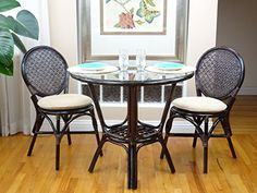 Dining Room Set Temple Stuart Hutch 6 Chairs Table