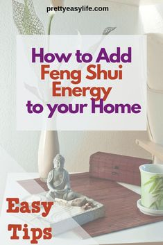 Simple ways to start applying Feng Shui in your home for a better life. Find out how to add Feng Shui good vibes in your kitchen, living room, bathroom and how declutering your home can add good Feng Shui to your life. Feng Shui Basics, Feng Shui Rules, Feng Shui Items, Feng Shui Principles, Feng Shui Art, Feng Shui Energy, Feng Shui House, Consejos Feng Shui, Feng Shui Bathroom