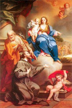 The Madonna of the Snows Gaetano Lapis 1720