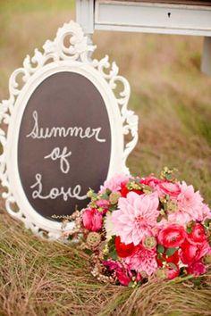 wedding themes for summer | Real Wedding, Summer Wedding Ideas 6: Late Summer Love Wedding ...