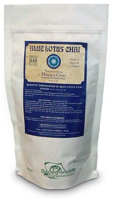 Blue Lotus Traditional Masala Chai - Bulk 1 Lb Bag (530 Cups) - http://teacoffeestore.com/blue-lotus-traditional-masala-chai-bulk-1-lb-bag-530-cups/