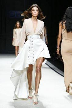 22 Looks with Fashion Designer Elisabetta Franchi Glamsugar.com Elisabetta Franchi Ready To Wear Spring Summer 2016 Milan