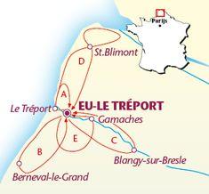 Individuele fietsvakantie in Normandië in Frankrijk - unieke routes!