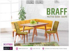 Güzel Bir Gün Geçirmenizi Dileriz  Braff Bank Takımının Konforu ile Mutfakta Keyifle Geçirdiğiniz Zamanlar Akıp Gidecek! Detaylar: http://rngmall.com/portfolio/braff-bank-seti/  #alanya #mobilya #dekorasyon #mutfak #masa #bank
