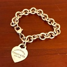 01a68fe70 Shop Women's Tiffany & Co. Silver size OS Bracelets at a discounted price  at Poshmark