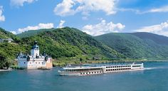 My new vacation dream - a river cruise in Europe.  Imagine cruising down the Danube!