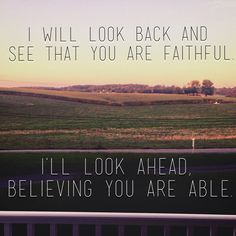 i will look back and see that you are faithful - Google Search