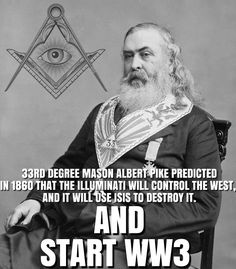 "The Top Freemason, Albert Pike's own words: ""Lucifer, the Light-bearer! Strange and mysterious name to give to the Spirit of Darkness! Lucifer, the Son of the Morning! Is it he who bears the Light, and with its splendors intolerable, blinds feeble, sensual, or selfish souls? Doubt it not!"" Albert Pike, Morals and Dogma of the Ancient and Accepted Scottish Rite of Freemasonry, p. 321, 19th Degree of Grand Pontiff.Pike gives evidence of Freemason's worship of Satan on the cover of Morals and…"