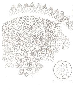 Pineapple Doily   Crochet