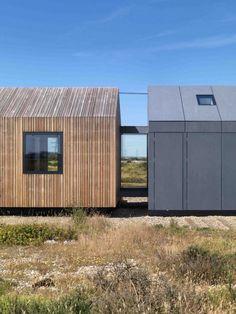 Architecture moderne de la maison Pobble