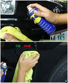 Tips to Remove Bugs, Tar, and Sap from Car Body-20 Car Cleaning Detailing Tips and Tricks