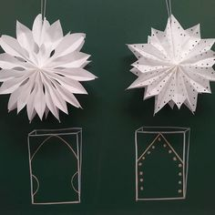 Christmas Crafts For Adults, Xmas Crafts, Decor Crafts, Diy And Crafts, Christmas Makes, Christmas Mood, Christmas Wreaths, Christmas Decorations, Paper Crafts Origami