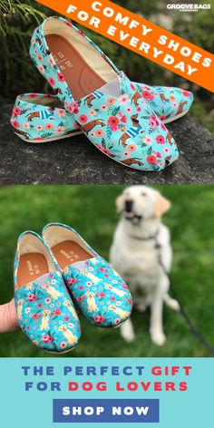 4b7a0900075f The perfect gift for dog lovers! Check out our collection of Amazing Dog  Shoes and
