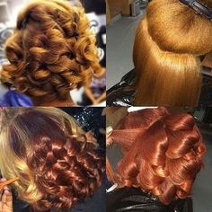 Transitioning Series How to Make the Transition to Natural Hair? Dope Hairstyles, Pretty Hairstyles, Straight Hairstyles, Braided Hairstyles, Bold Hair Color, Cute Hair Colors, Dyed Natural Hair, Dyed Hair, Curly Hair Styles