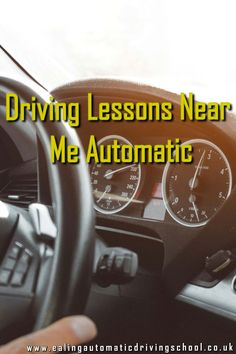 Driving Lessons Near Me Automatic Practical Test, Driving Courses, Learning To Drive, Driving Tips, Automatic Cars, Driving School, West London, London England, Schools