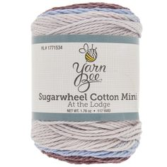 Plum-body Loves You Yarn Bee Sugarwheel Cotton Mini Yarn