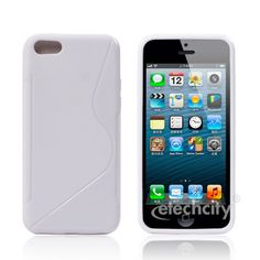 #S-Shape Series #TPU Skin Case Case for #Apple #Iphone 5C [PC-DPUSPNSC] - $12.90 : #White