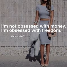Don't ever let them make you feel bad for wanting to empower yourself. Take the FREE 3-day #BossBabe starter course by clicking the link in our profile!!