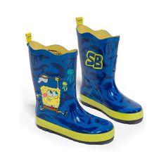 Kids Rain Boots – Buy Girls/Boys SpongeBob SquarePants Rain Boots #boots #shoes #rainydays #kidsfashion #childrenswear