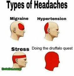 To hell with druffalo! FREAKING HALLA QUEST