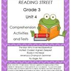 This bundle includes three of my products:  Reading Street Comprehension Unit 4 Grade 3, Reading Street Spelling Unit 4 Grade 3, and Reading Street...