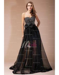 Sheath/Column Sweetheart Beading Floor-Length Sleeveless Organza Elastic Woven Satin Dress - merledress.com