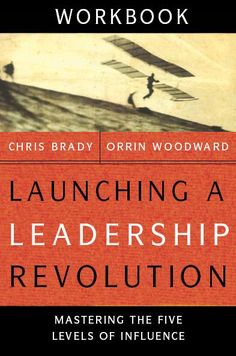 LLR Workbook by Chris Brady and Orrin Woodward  Through the interactive learning process of this companion workbook, you can gain greater knowledge of the material from the book that started it all: Launching a Leadership Revolution. Dig deeper into both the art and science of leadership (what a leader is, what a leader brings, what a leader does, how a leader grows personally, and how a leader grows in influence), and make sure you are ready to take charge when you are called to lead.