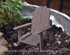 Adirondack Chairs Popsicle Sticks And Popsicles On Pinterest